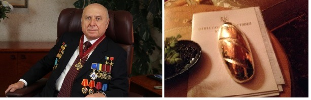 Установлена личность человека, подарившего Януковичу золотой батон