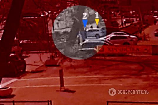 Поджидали на парковке: появилось видео расстрела хозяина Kiev Sport Club