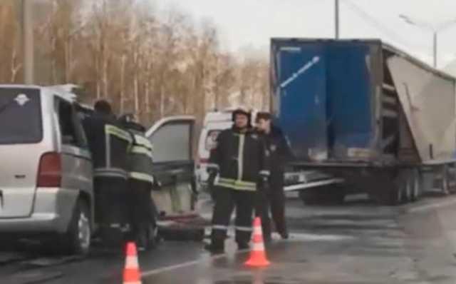 Виновник смертельного ДТП на трассе Тула – Москва с шестью погибшими оказался нелегальным перевозчиком