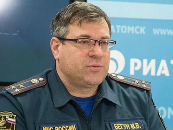 Генерал Михаил Бегун за 300 тыс рублей нарушил правила противопожарной безопасности