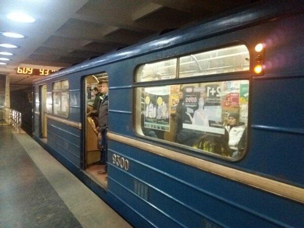 В Харькове разбился главный инспектор ГФС, упав пьяным в метро