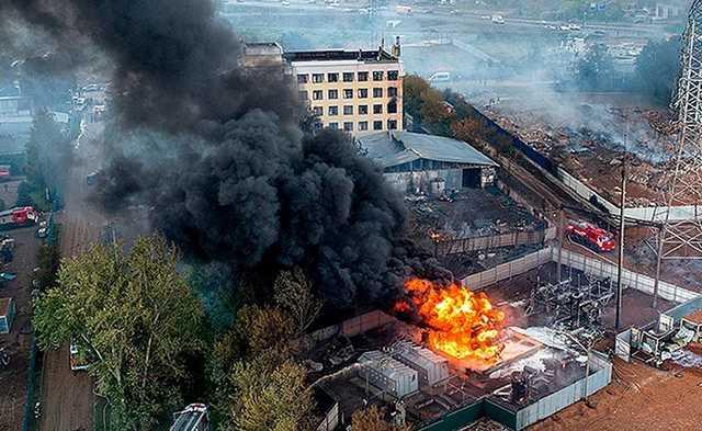 Погибшая при пожаре на ТЭЦ в Мытищах вахтер первой подала сигнал SOS