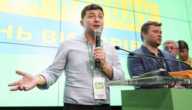 Партия Зеленского лидирует с большим отрывом на выборах в Верховную Раду Украины