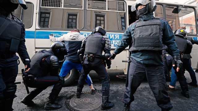 Задержаниями в центре Москвы руководил генерал-майор Росгвардии