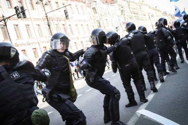 В Санкт-Петербурге силовик написал заявление на девушку, сказавшую, что у него «нет совести»