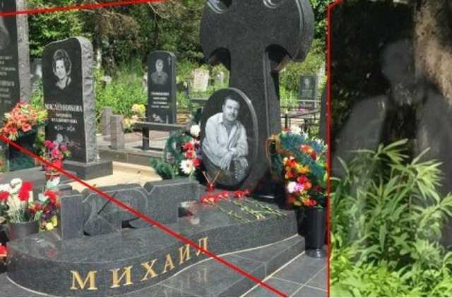Упокоилась душа: призрак Михаила Круга сфотографирован на кладбище в Твери
