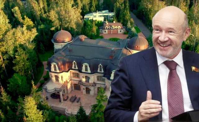 Депутат с Рублевки — родовые замки Владимира Платонова перевалили за 5 миллиардов рублей