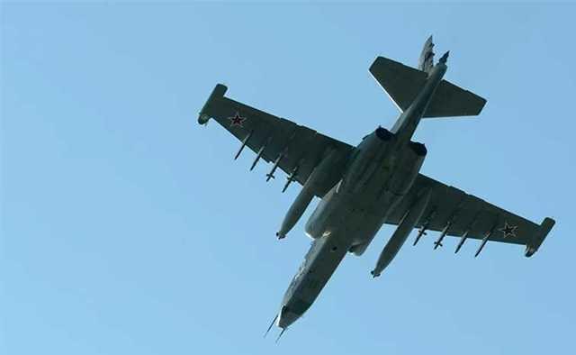 Основной версией крушения штурмовика Су-25УБ считается ошибка пилотов