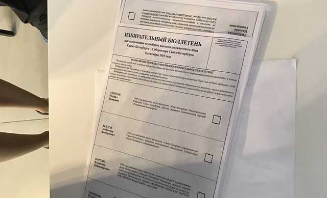 Штаб Навального в Петербурге обыскали. В туалете обнаружены копии бюллетеней