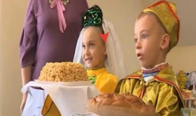 В Татарстане открытие детского сада провели с подставными детьми