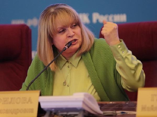 Памфилова предположила отсутствие мозгов у организаторов вбросов под видеокамерами