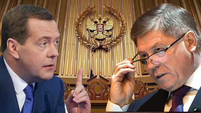 Лебедев или Медведев: для кого освободили кресло главного судьи РФ