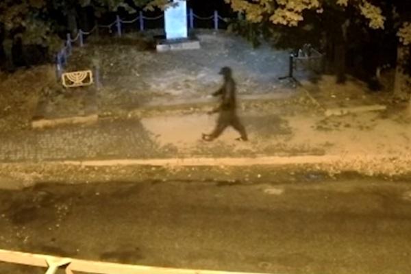 Покушение на ректора под Тернополем: появилось первое видео с подозреваемым