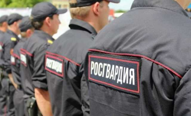 Росгвардия попросила запретить журналистам разглашать сведения о бойцах