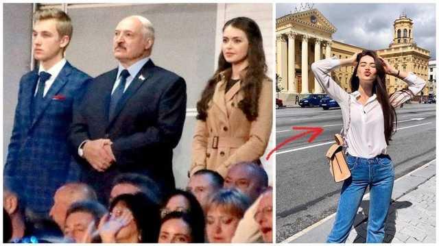 Лукашенко повсюду таскает за собой 22-летнюю красотку-фаворитку