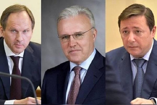 «Сговор» трех губернаторов