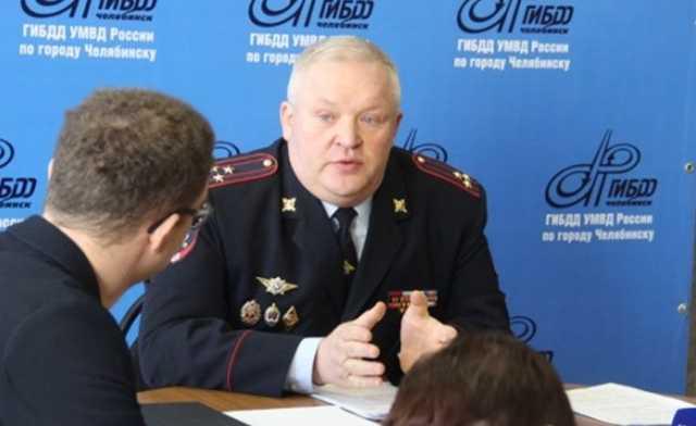 Отстраненный после пьяного ДТП полковник возглавил челябинское ГИБДД