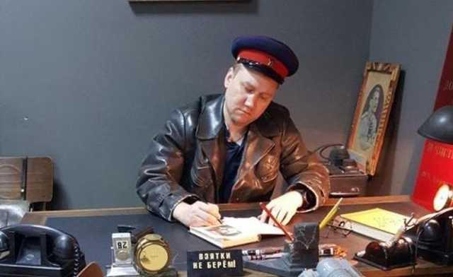 У нового начальника Центра «Э» по Петербургу обнаружили фото в форме НКВД