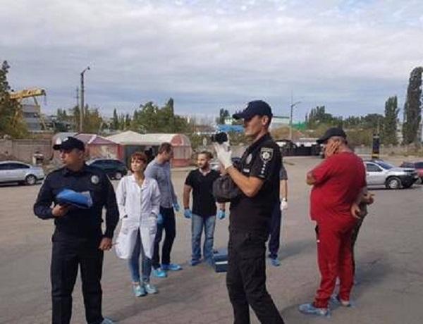 В Николаеве на АЗС застрелили троих людей