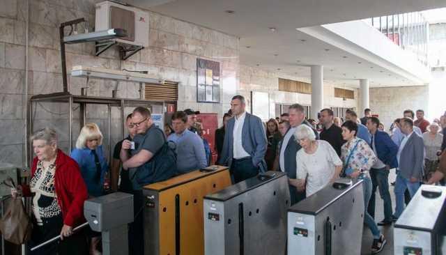 Кличко вышел на след Портнова в метро