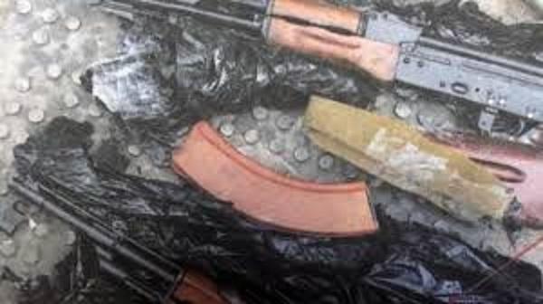 Фото: у задержанных по делу вора в законе Шишкана нашли оружие