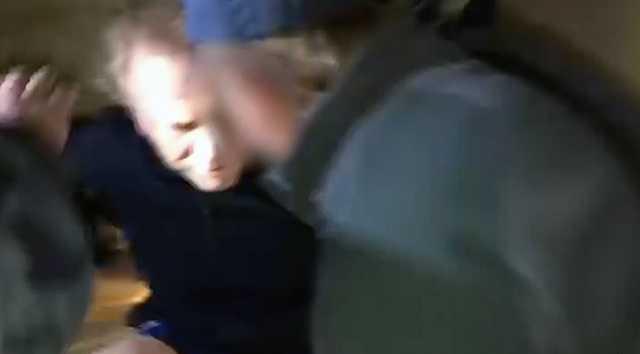 Опубликовано видео задержания «вора в законе» Шишкана