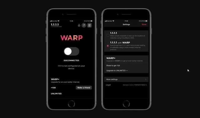 У пользователей iPhone и Android появился бесплатный VPN от Cloudflare