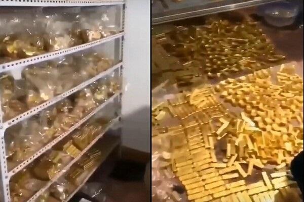 Золото вывозили грузовиками: в доме экс-мэра нашли несусветные богатства