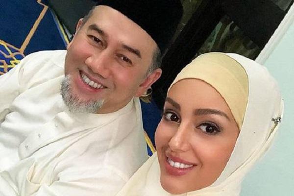 «Мисс Москва» Оксана Воеводина и бывший король Малайзии могли рпасстаться из-за подозрений в неверности