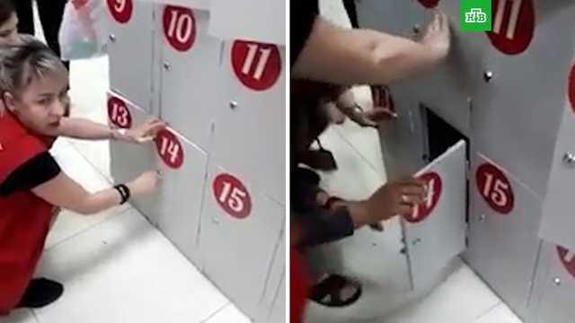 Ребенка закрыли в камере хранения в ТЦ на Кубани
