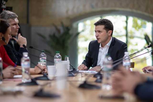 Зеленский признал, что Хорошковский ходит в ОП, и рассказал, о чем с ним говорит