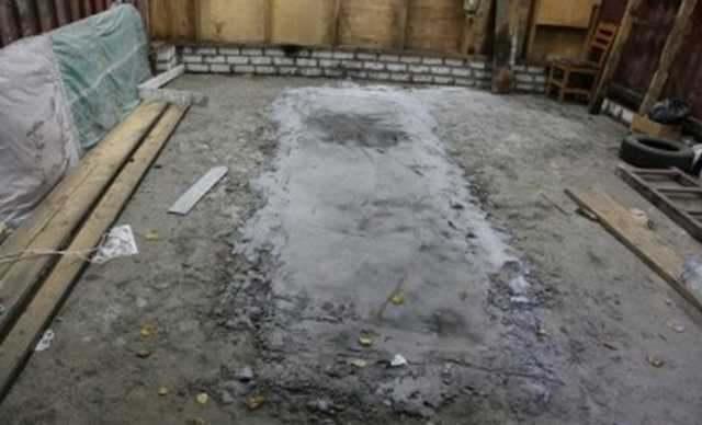 В Брянске преступники, вооруженные оружием времен ВОВ, убили человека и закатали тело в бетон