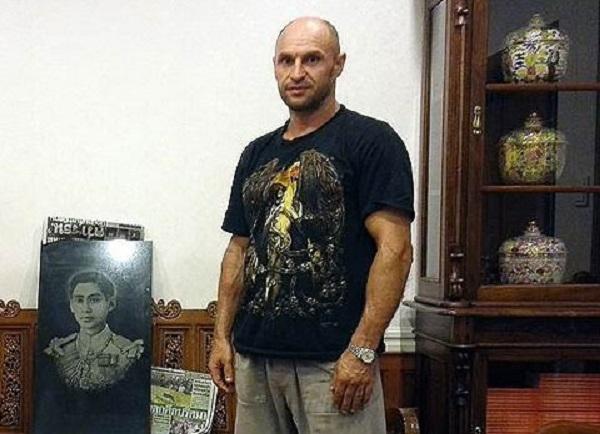 Феликс Черемных в тюрьме Банкванга