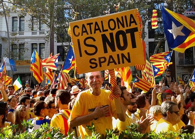 Каталонию захлестнула новая волна протестов