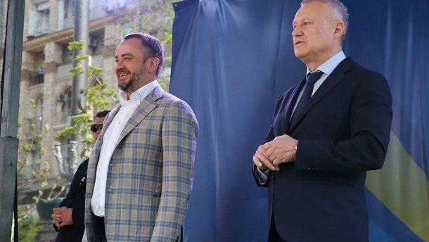 Функционер Павелко устроил воровские разборки на украинском стадионе