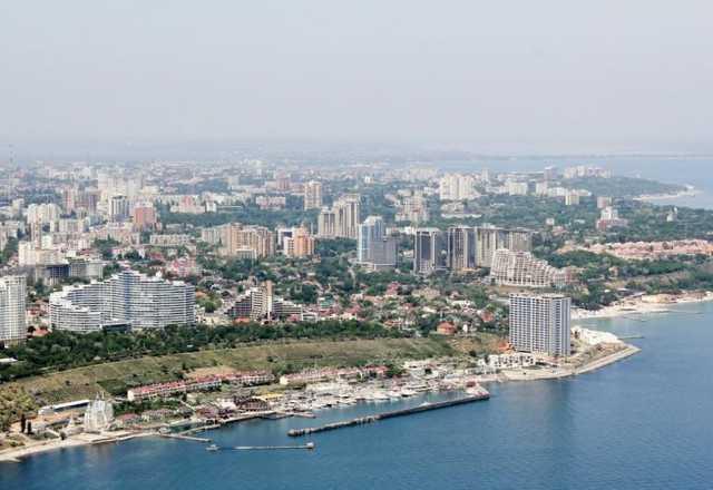 """Строительная мафия """"Мегалайн"""" начинает захватывать Одесское побережье"""