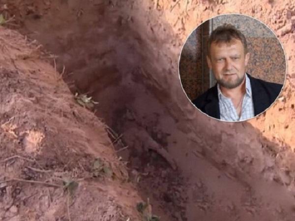 Под Черниговом из могилы украли гроб с телом священника