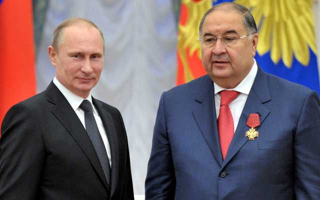 Соратники Путина на Рижском взморье: Алишер Усманов