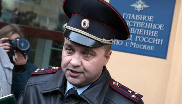 Уволен начальник пресс-службы московской полиции, наказанный после публикации «левых» снимков по делу Голунова