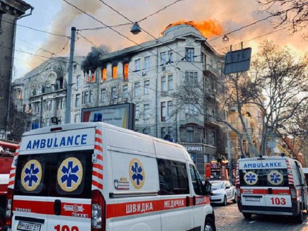 Пожар в Одессе: названа причина трагедии в колледже