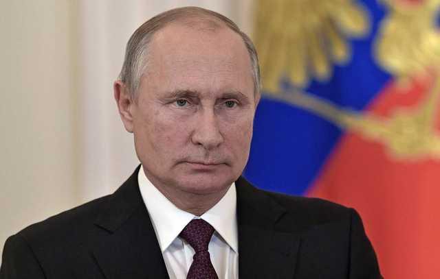Путин отказался от привычного термоса с чаем