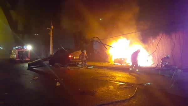 Смертельное ДТП в Днепропетровске: свидетели достали водителя из горящего авто