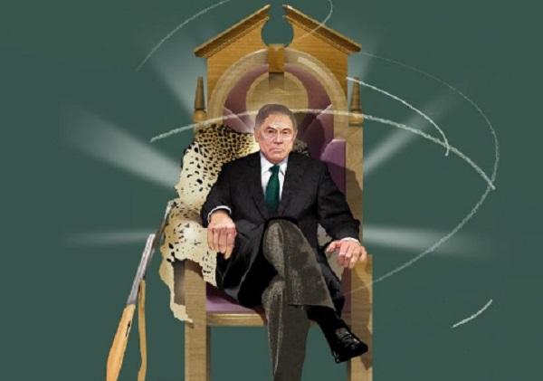 Госкорпорация «Правосудие» Портрет Вячеслава Лебедева, судьи, угодившего четырем президентам