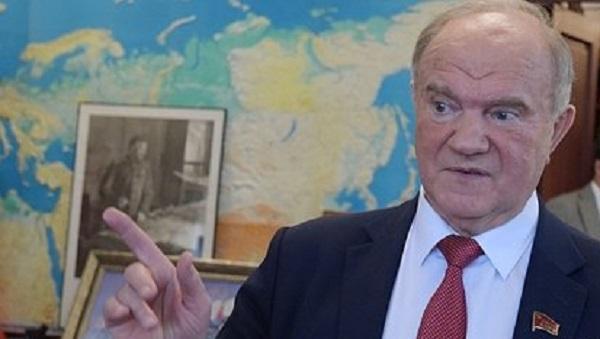 Зюганов пояснил свои слова о досрочных выборах президента