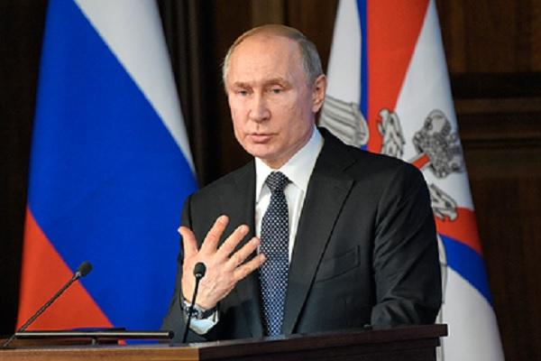 Путин раскритиковал работу чиновников