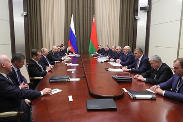 Названа одна несогласованная дорожная карта по интеграции России и Белоруссии