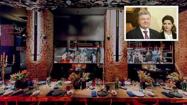 Петр Порошенко сводил жену и дочь в модный китайский ресторан BAO, где подают салат из медузы за 549 гривен