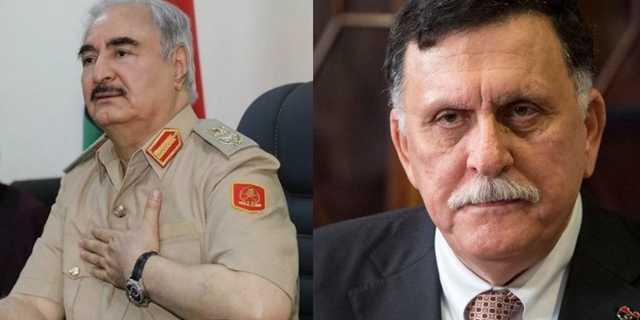Хафтар и Саррадж приедут на встречу в Москву