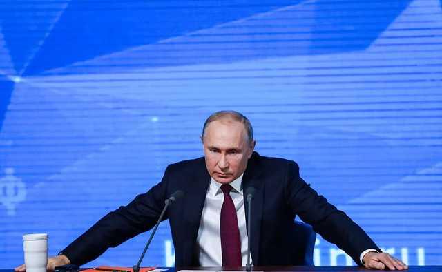 Детский хор встретил Путина песней «Как хорошо, что ты кому-то нужен»