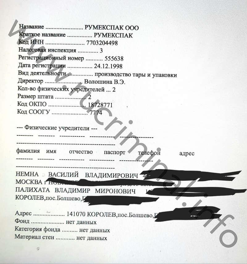 Палихата Владимир Миронович: от тернопольской ОПГ до спонсора Собчак